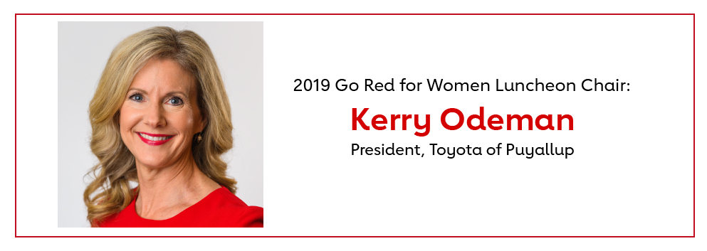 Tacoma Go Red Chair, Kerry Odeman