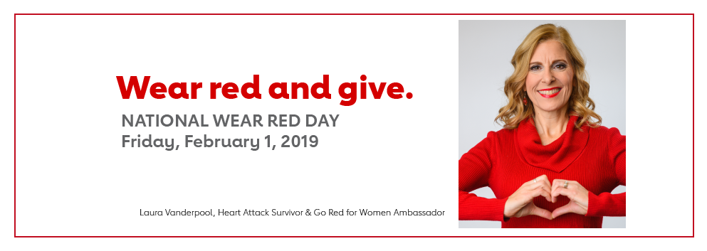 National Wear Red Day, Feb. 1